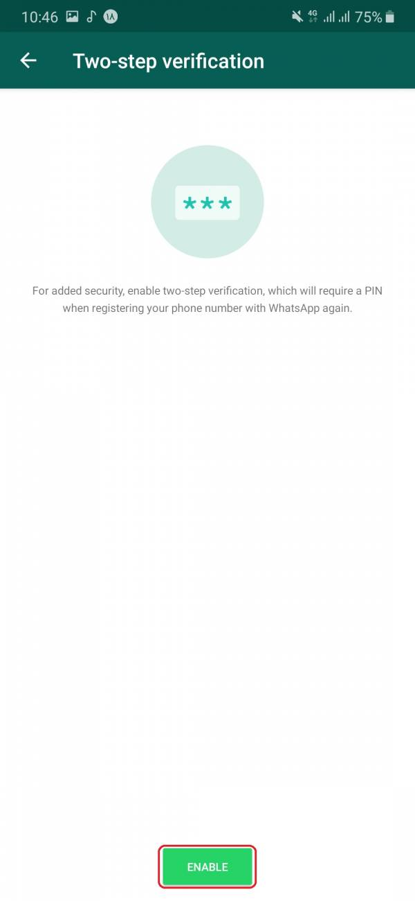احراز هویت دو عامله هک کردن واتساپ از راه دور