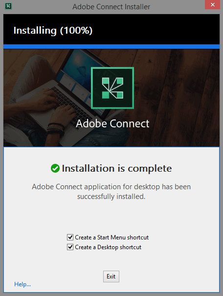 نصب adobe connect
