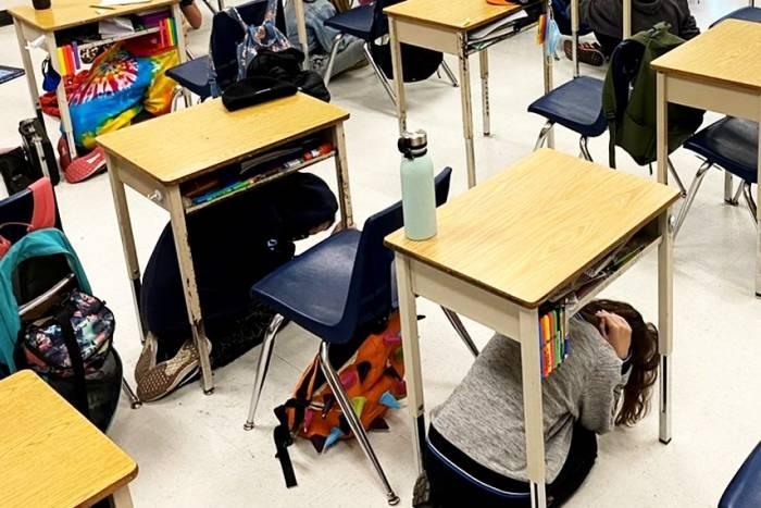 زلزله در مدارس