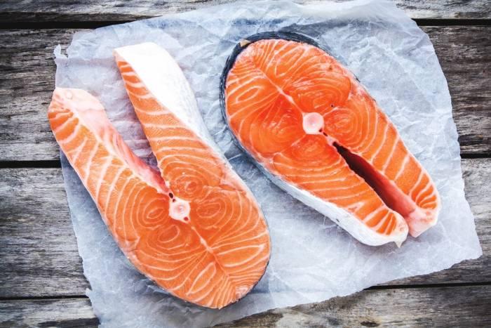 ماهی سالمون وحشی