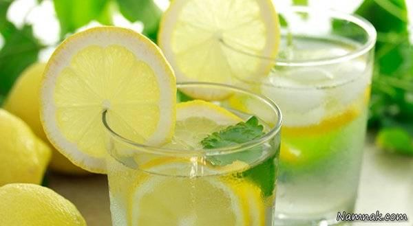 آب لیمو برای جوش