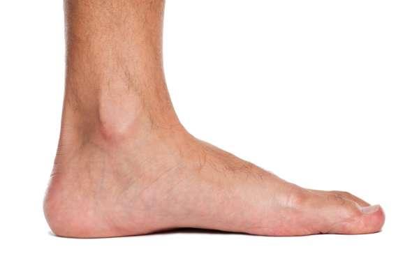 صاف بودن کف پا