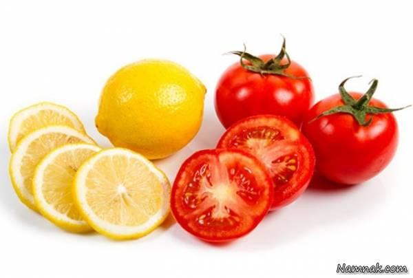 لیمو و گوجه فرنگی