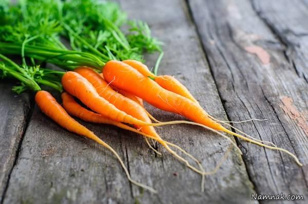 مصرف کردن هویج