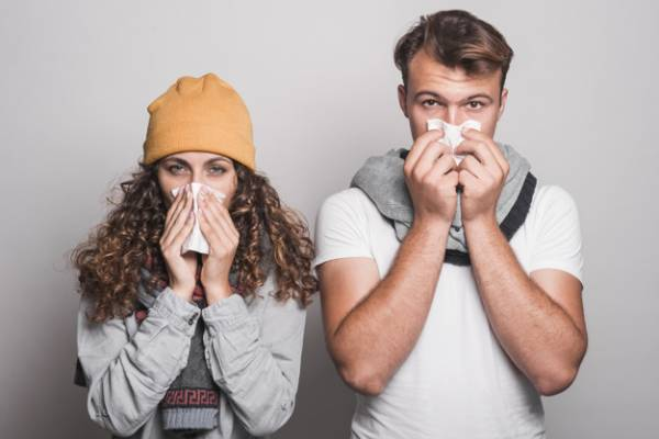درمان سرماخوردگی در یک روز