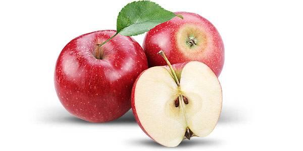 سیب برای چاقی صورت