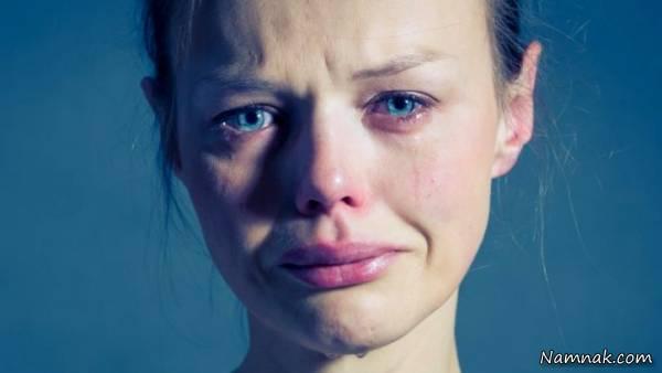 فواید گریه کردن برای بدن