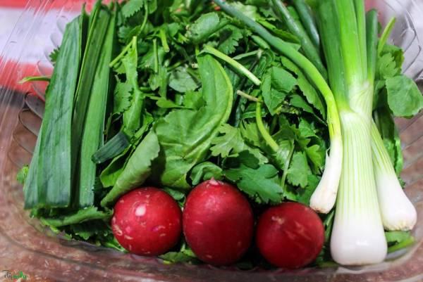 مصرف سبزیجات