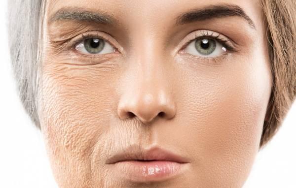 تاخیر در پیر شدن پوست