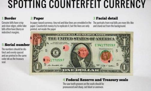 تشخیص دلار اصل