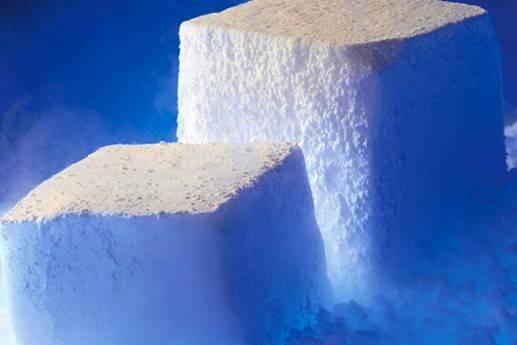 کاربردهای یخ خشک