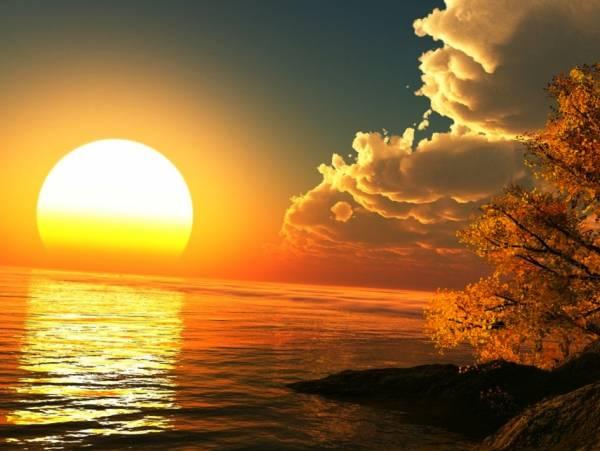 خواص نور خورشید