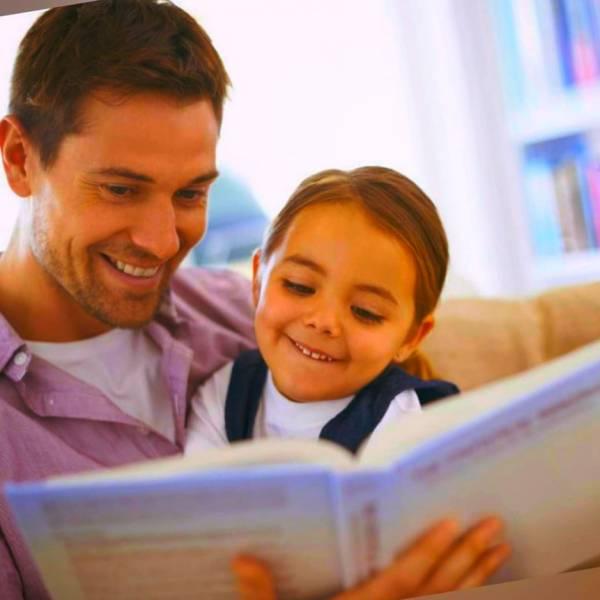 خواندن کتاب برای کودک