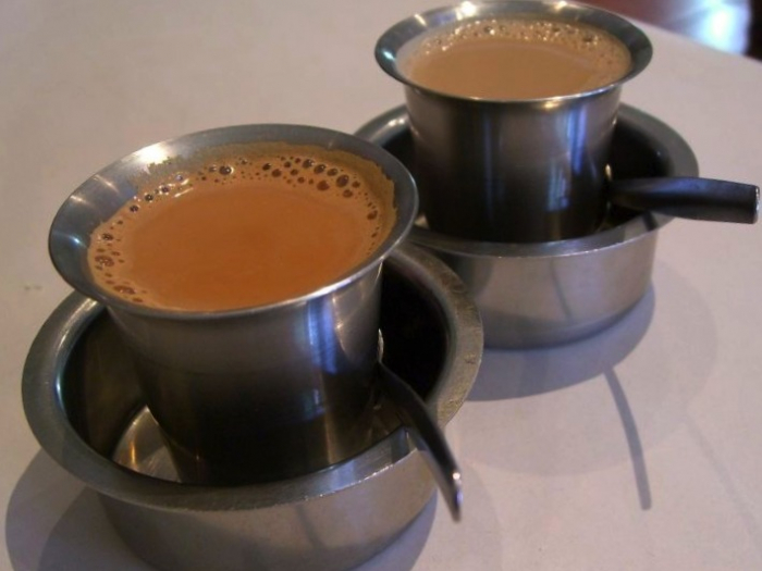 نوشیدن چای ماسالا