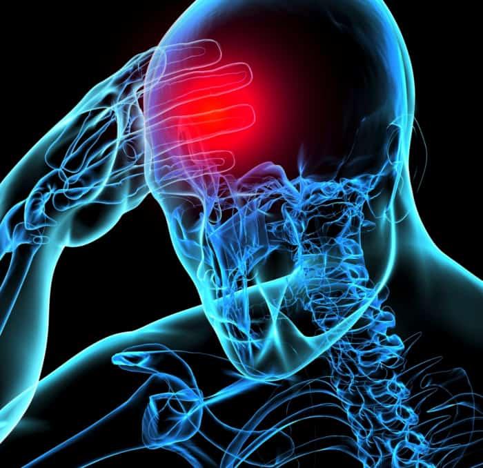 علت ضربه مغزی