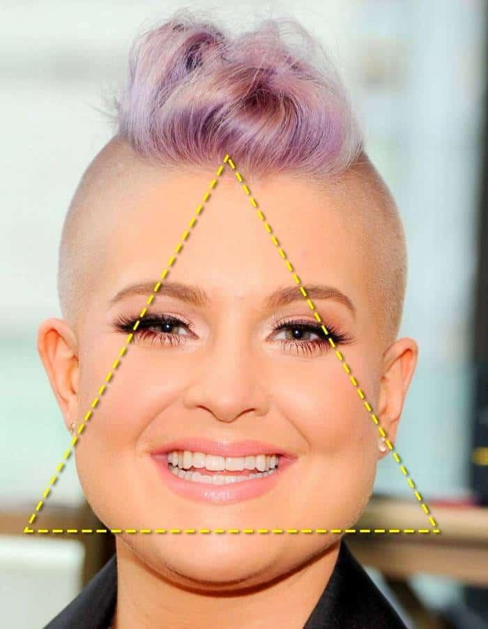 صورت مثلثی