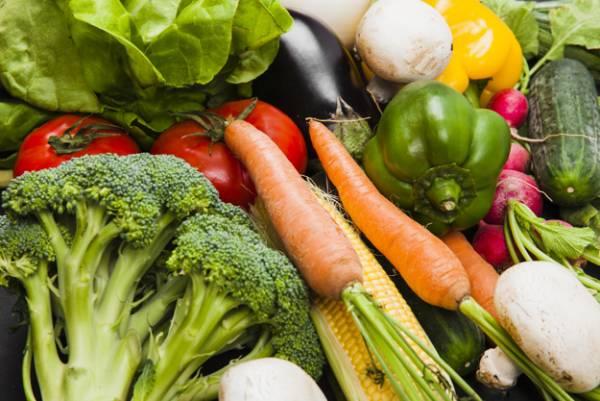 سبزیجات در رژیم