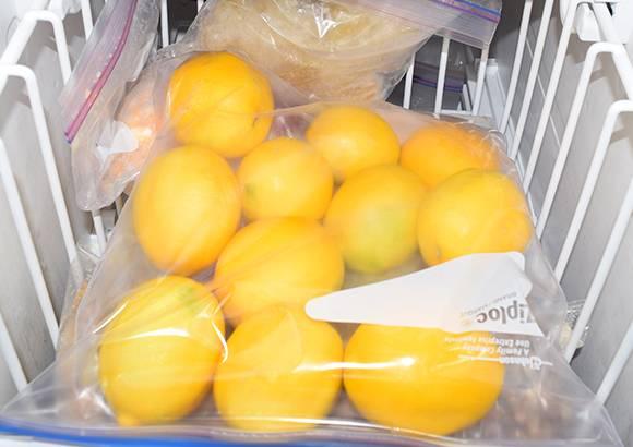 نگهداری لیمو ترش