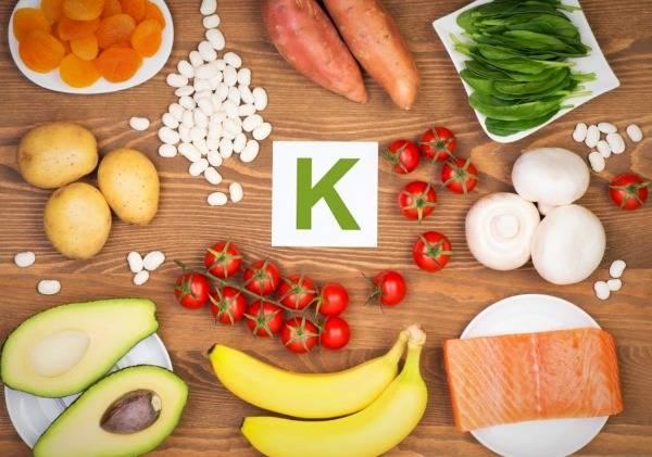 مکمل های ویتامین k