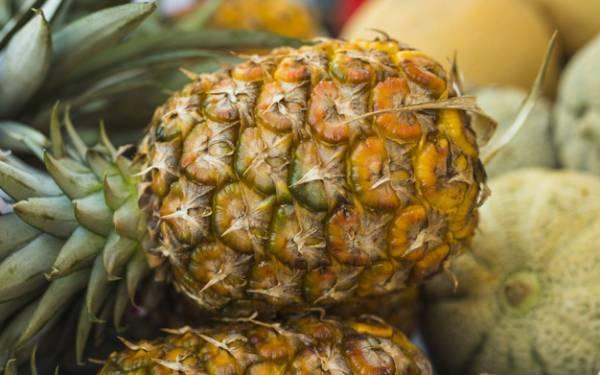 تشخیص آناناس شیرین