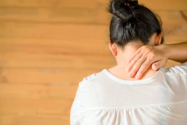 درمان قولنج گردن