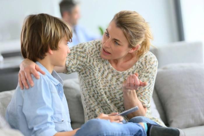 حرف زدن با کودک