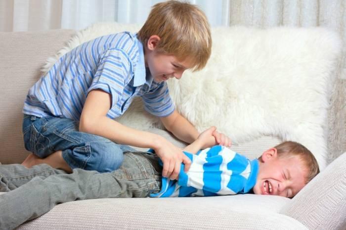 رفتار با کودک زورگو