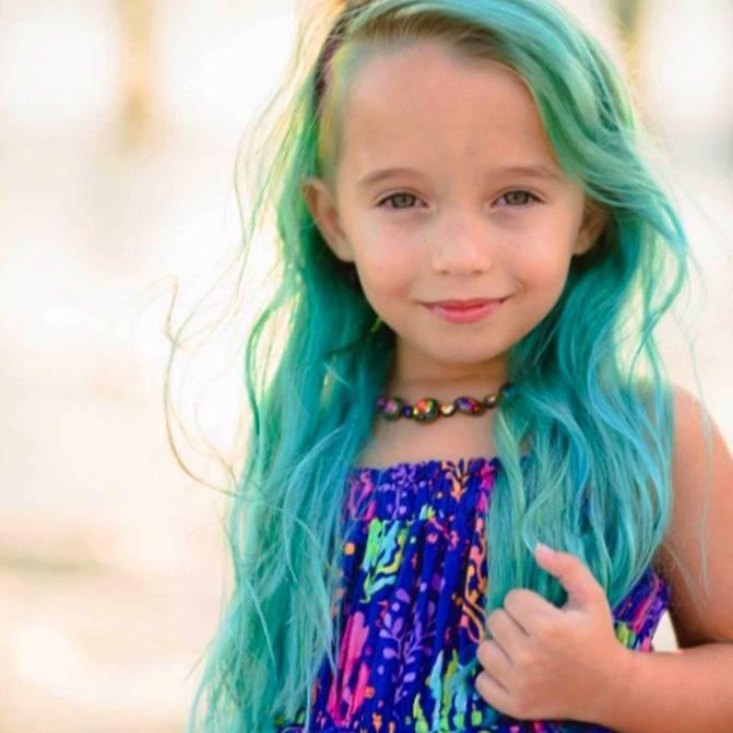 رنگ مو کودکان