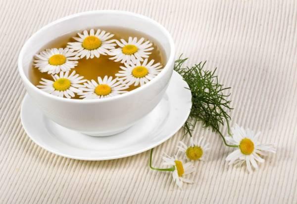 مصرف چای بابونه