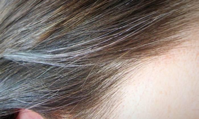 لوسیون گیاهی رفع سفیدی مو