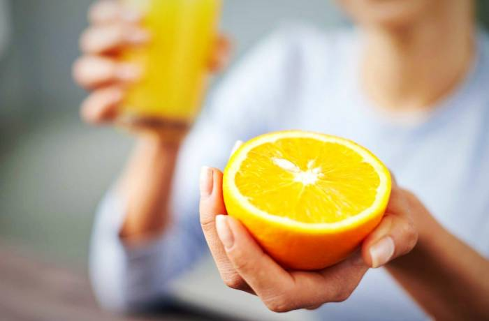 فیبر پرتقال