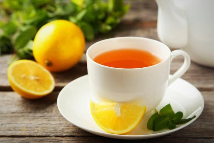 چای لیمو برای معده درد