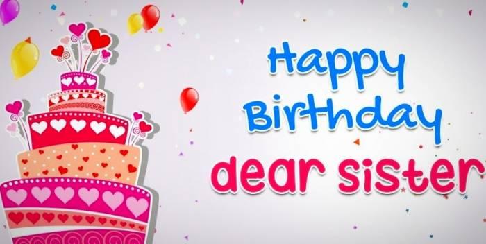 پیام تبریک تولد خواهر