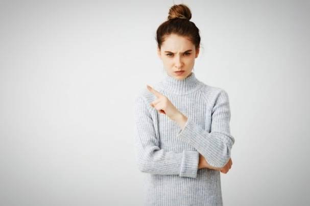 عصبانی شدن زنان