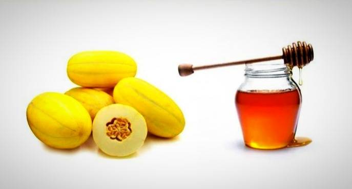 مصرف خریزه و عسل