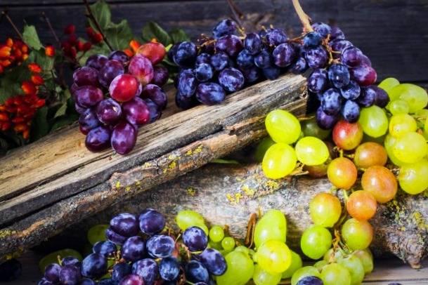 انگور برای کبد چرب