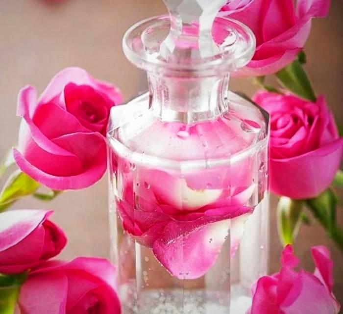 ترکیبات گلاب