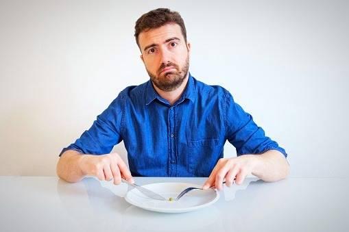 گرسنگی عصبانیت