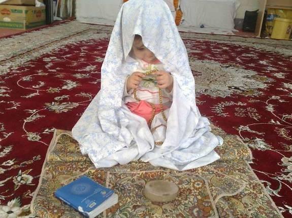 برای نماز خوان شدن فرزندان