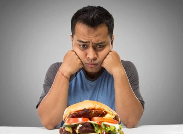 سیری قبل از غذا
