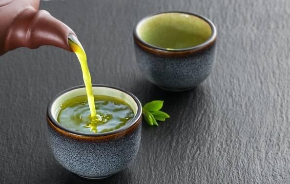 چای سبز در زمستان