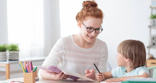 درس خواندن فرزند