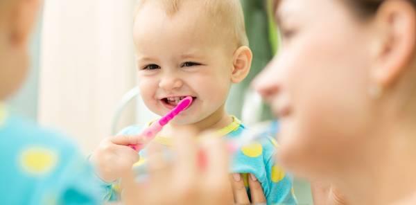 مسواک دندان شیری