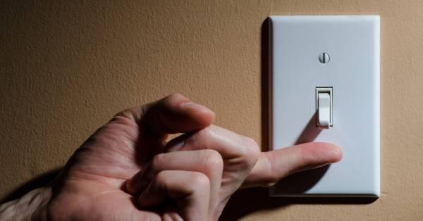 خاموش کردن لامپ