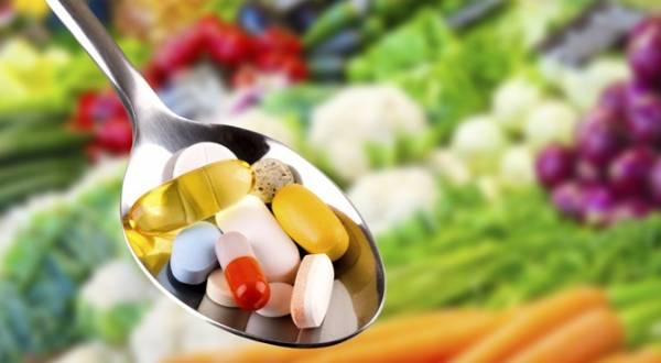 استفاده از ویتامین ها
