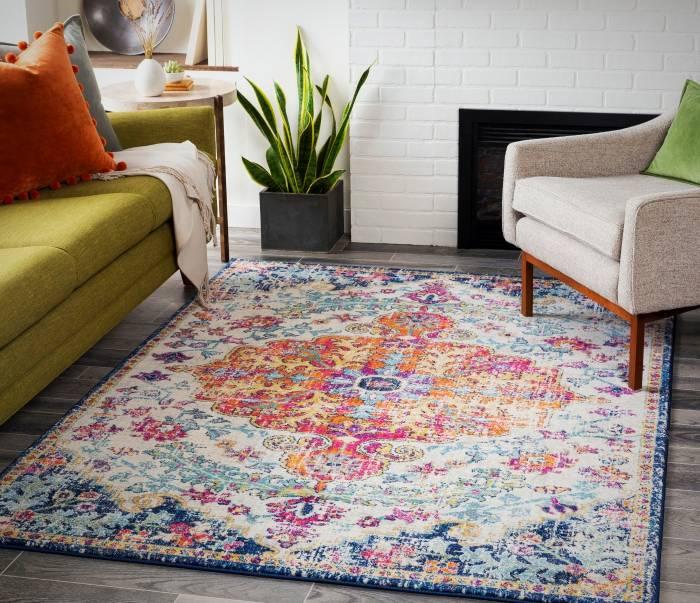 استفاده از قالیچه