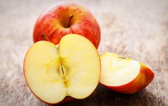 استهلك التفاح