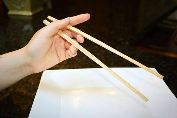 چوب چینی غذا