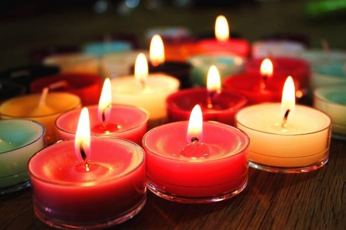 خوشبو شدن خانه با شمع