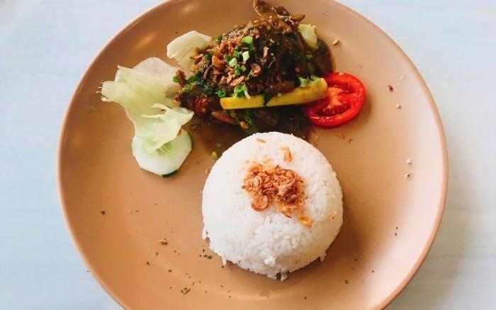 سرو قالبی برنج